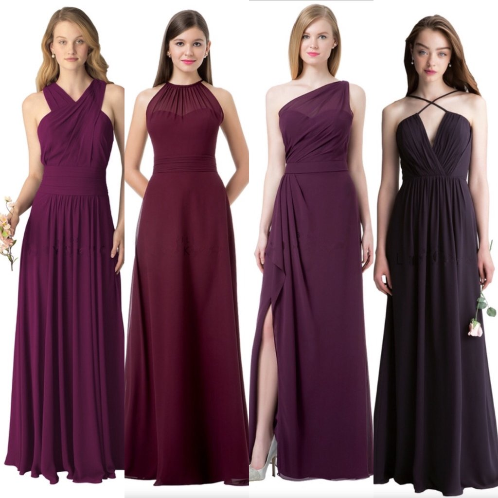 Cheap chiffon mismatched custom long bridesmaid dresses affordable cheap chiffon mismatched custom long bridesmaid dresses affordable unique custom long bridesmaid dresses affordable ombrellifo Images