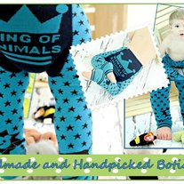 Legging Pants for Baby to Toddler 3 mos to 3T in KING OF ANIMALS DESIGN