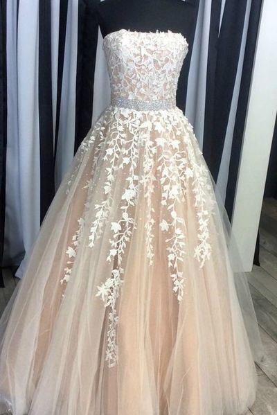 New Arrival Prom Dress,Prom Dresses,Long Tulle Party Prom Dress,Long ...