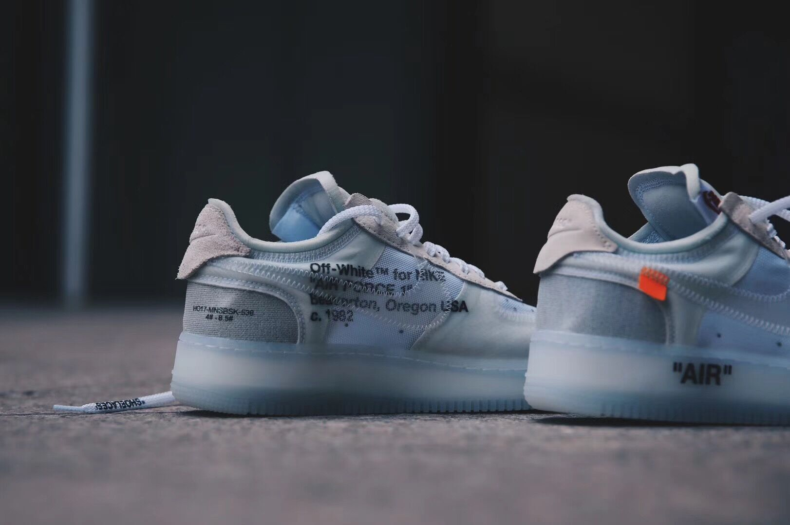 off white nike air force