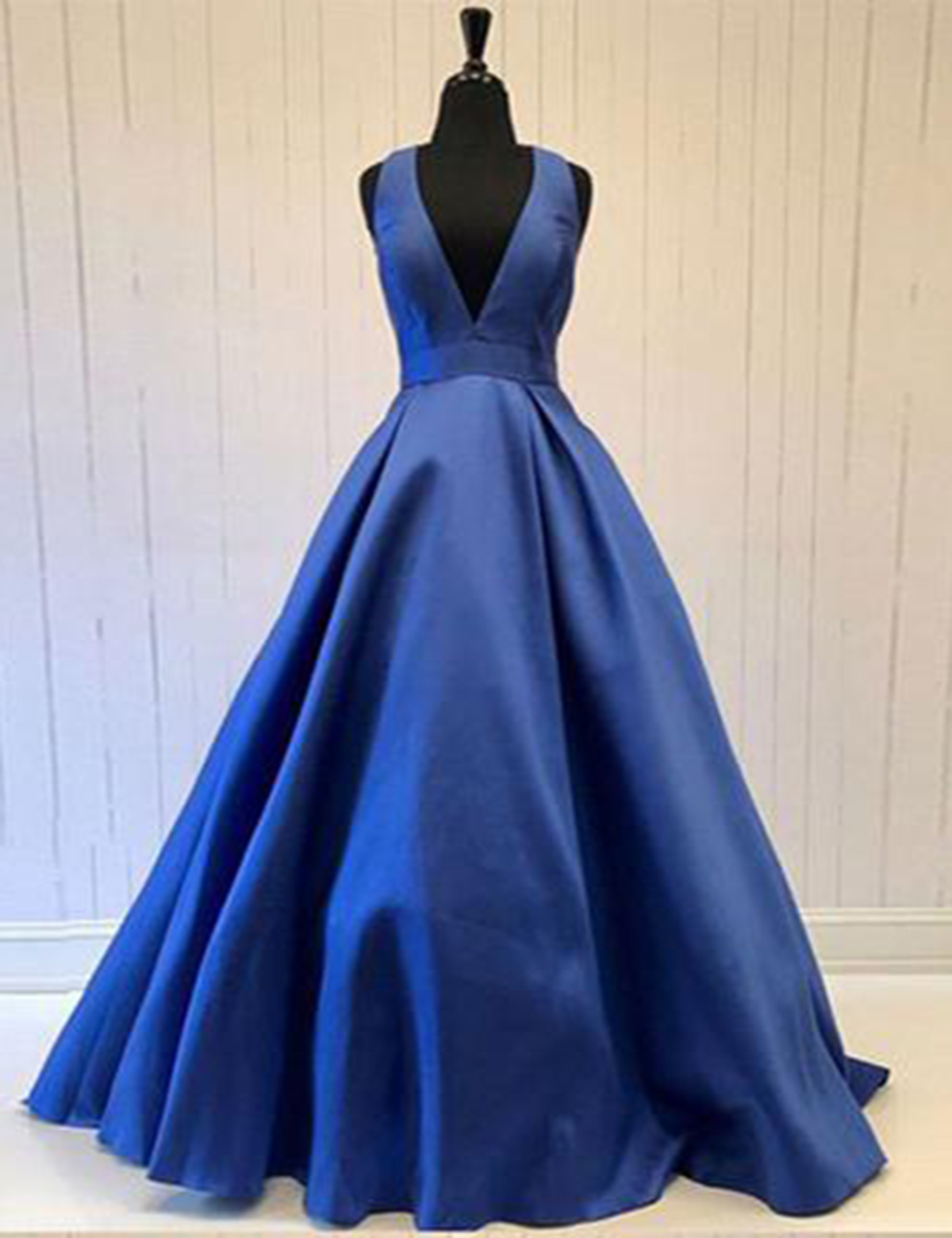 0b471d45a6 Cheap Prom Dresses by SweetheartDress · Royal blue deep V neck long ...