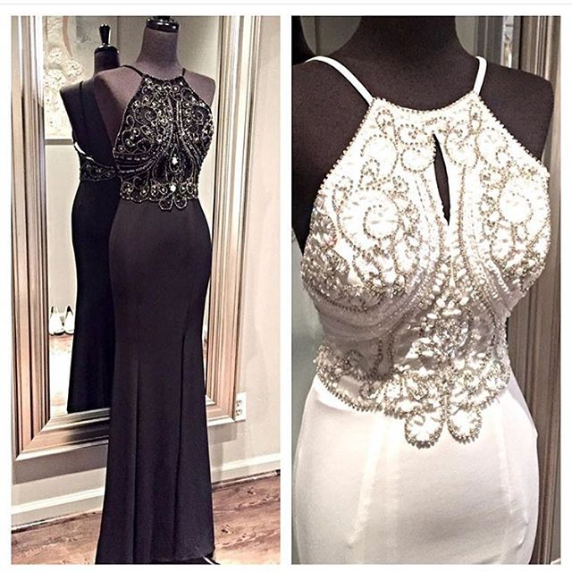 New Arrival White Prom Dressopen Back Prom Dresses Long Open Backs