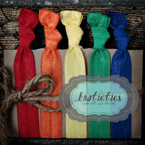 primary rainbow :original {knotieties} 10 pck
