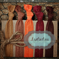 fall foliage : original {knotieties} 10 pack