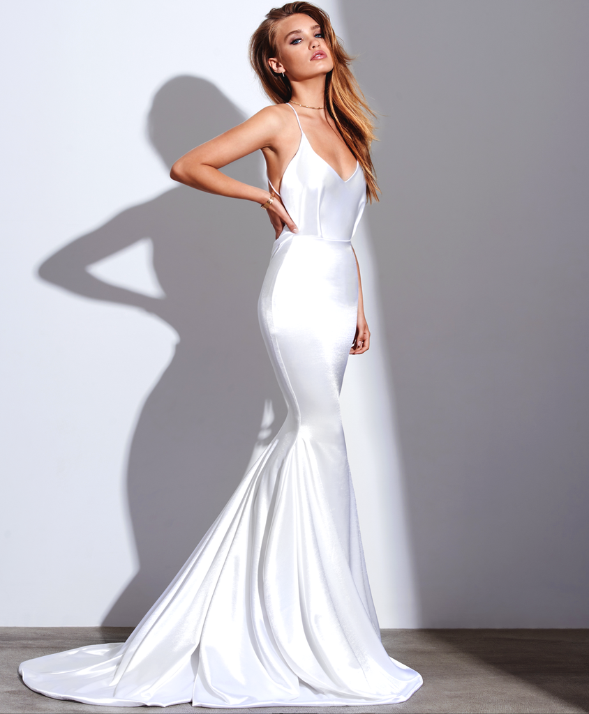 2018 Mermaid Prom Dress Evening Dress, Spaghetti Straps Prom Dresses ...