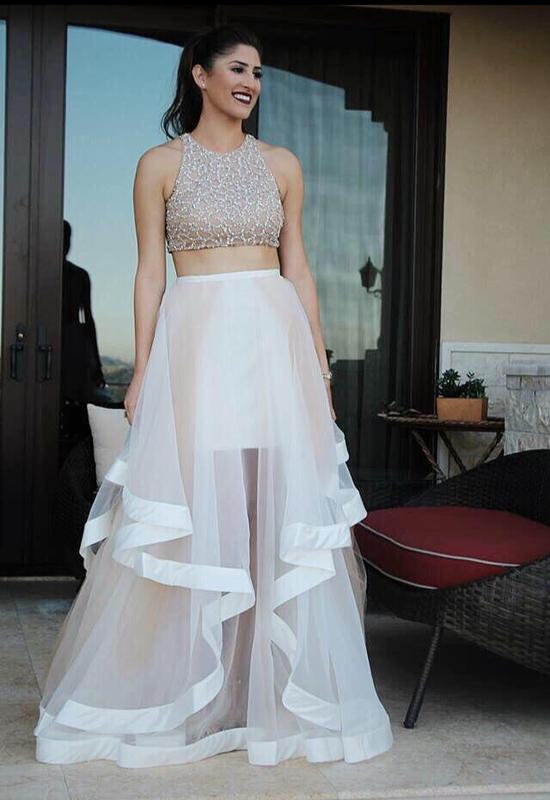 2 Piece Prom Dresses 2018