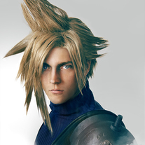 Cloud Strife Portrait Cosplay Print medium photo