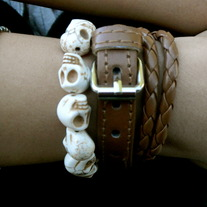 Brown Wrap Around Bracelet