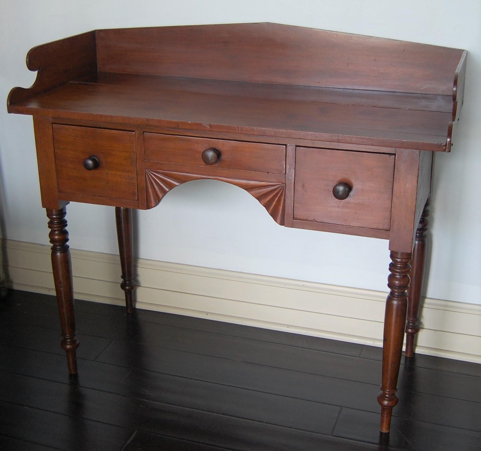 Primitive Antique 1800s Desk / Console Table