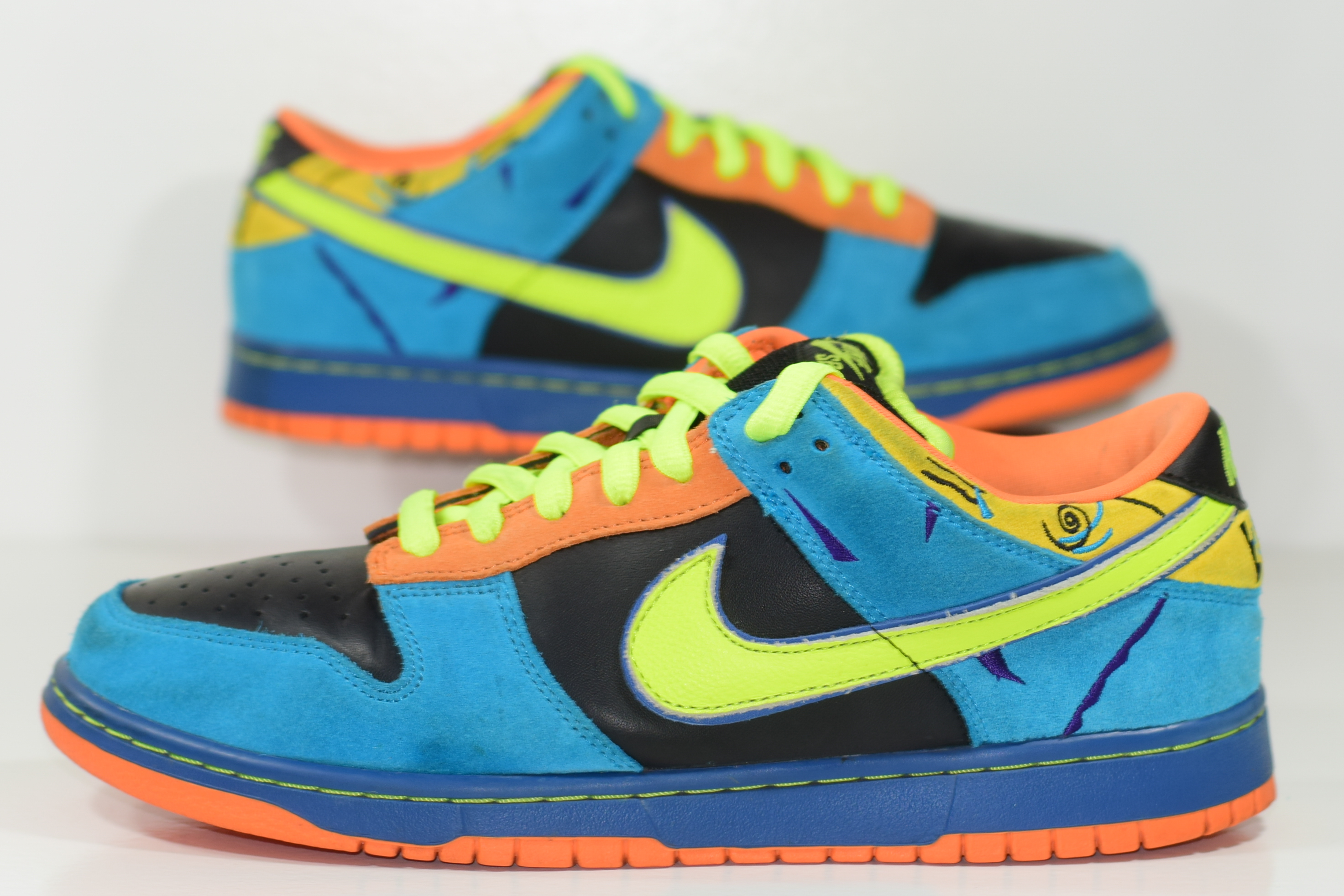 uk availability d12fd 27086 ... greece size 10.5 2008 nike dunk sb low skate or die sod new authentic  rare 52fa6