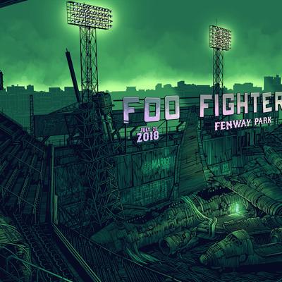 Foil - foo fighters at fenway park set