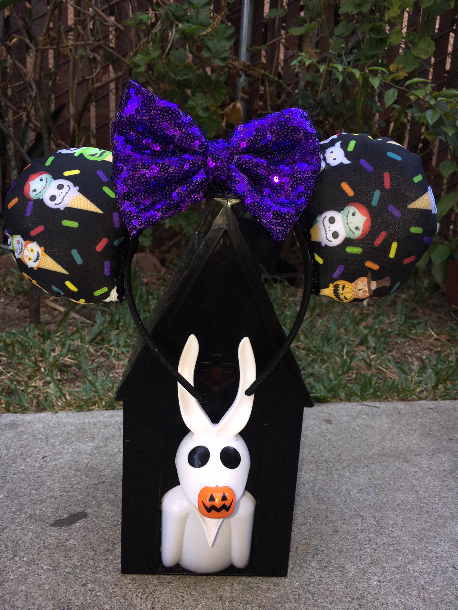 Nightmare Before Christmas Tsum Tsum ice cream Mouse Ears ...