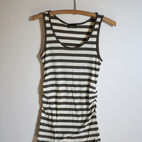 Brown Striped Tank