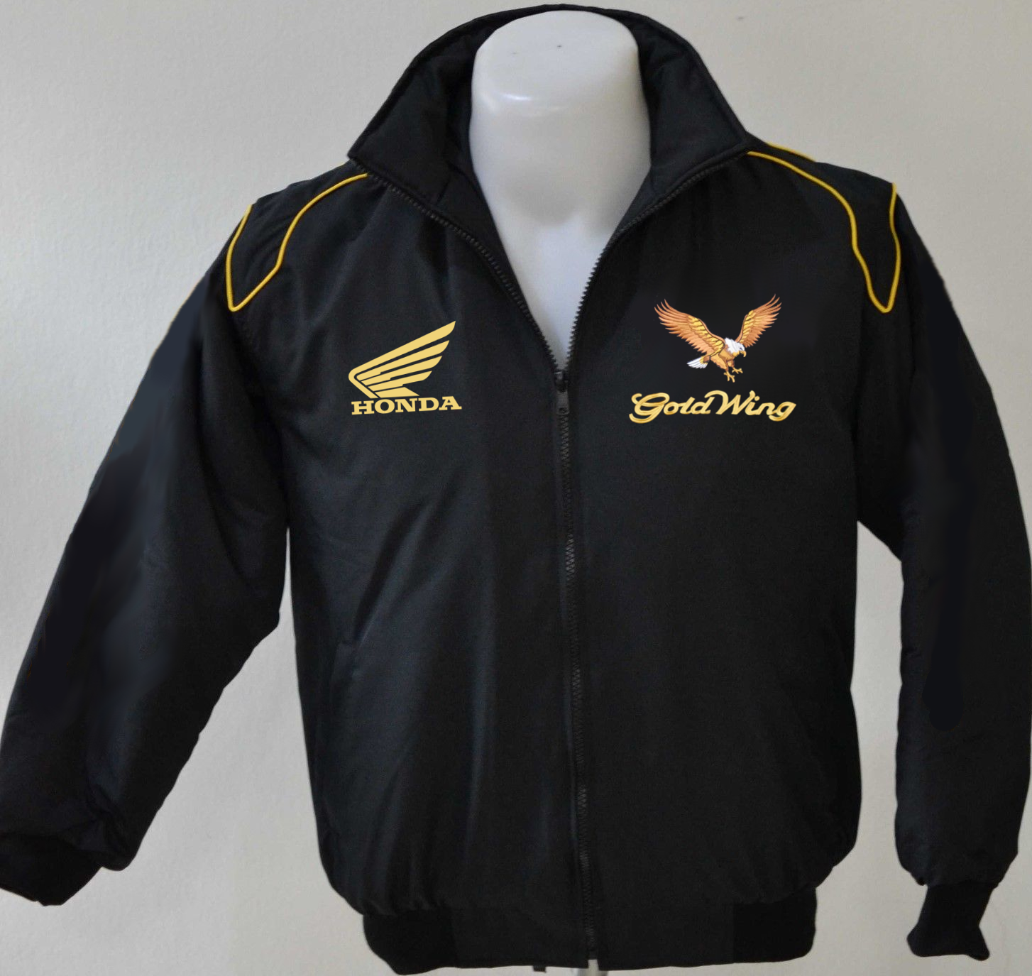 Goldwing Full Zip Hoodie with Goldwing Embroidered  Logo