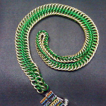 Lanyard - Green/Gold