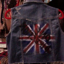 DIY One Direction Studded Denim Vest