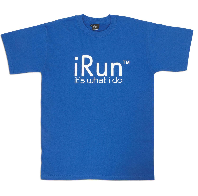 irun t shirt blue irun clothing company online store