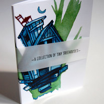 A Collection of Tiny Treehouses - Art Book