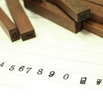 Tiny Number Stamp Set - Thumbnail 2