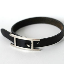 Hermes Bracelet Leather