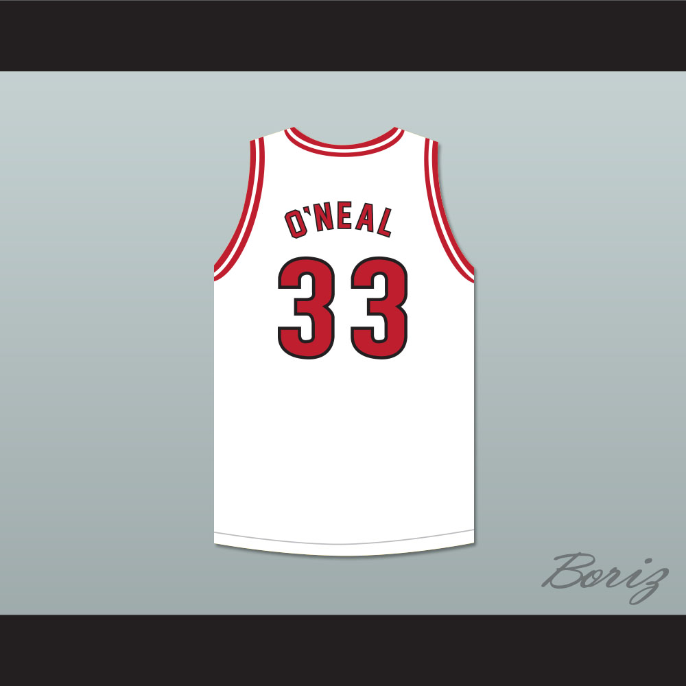 Shaquille O Neal 33 Christmas Special Basketball Jersey Shaq and The Former  Lakers Skit MADtv d93bbb758