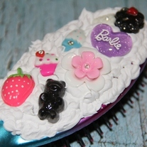Kawaii Decoden Hairbrush