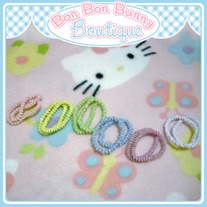 Tiny Treat Ponytail Elastic - Swirly