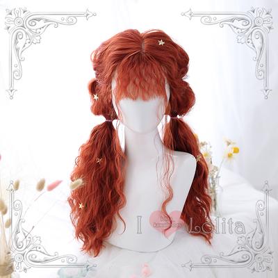 Japanese fashion harajuku long curly wigs lolita wigs daily wigs lk19030719