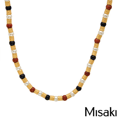 Misaki gold necklace