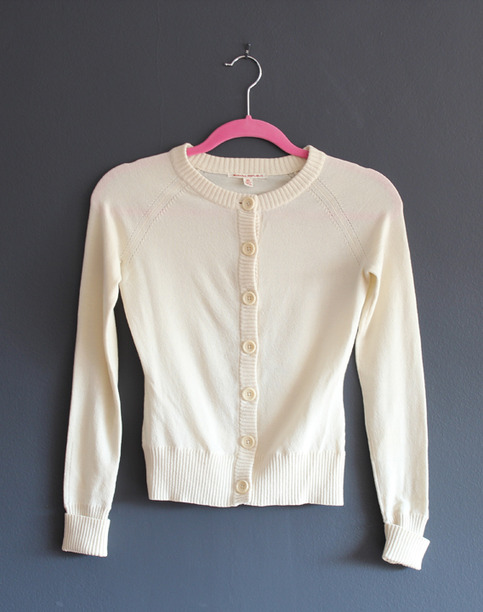 Banana Republic Cream Cardigan