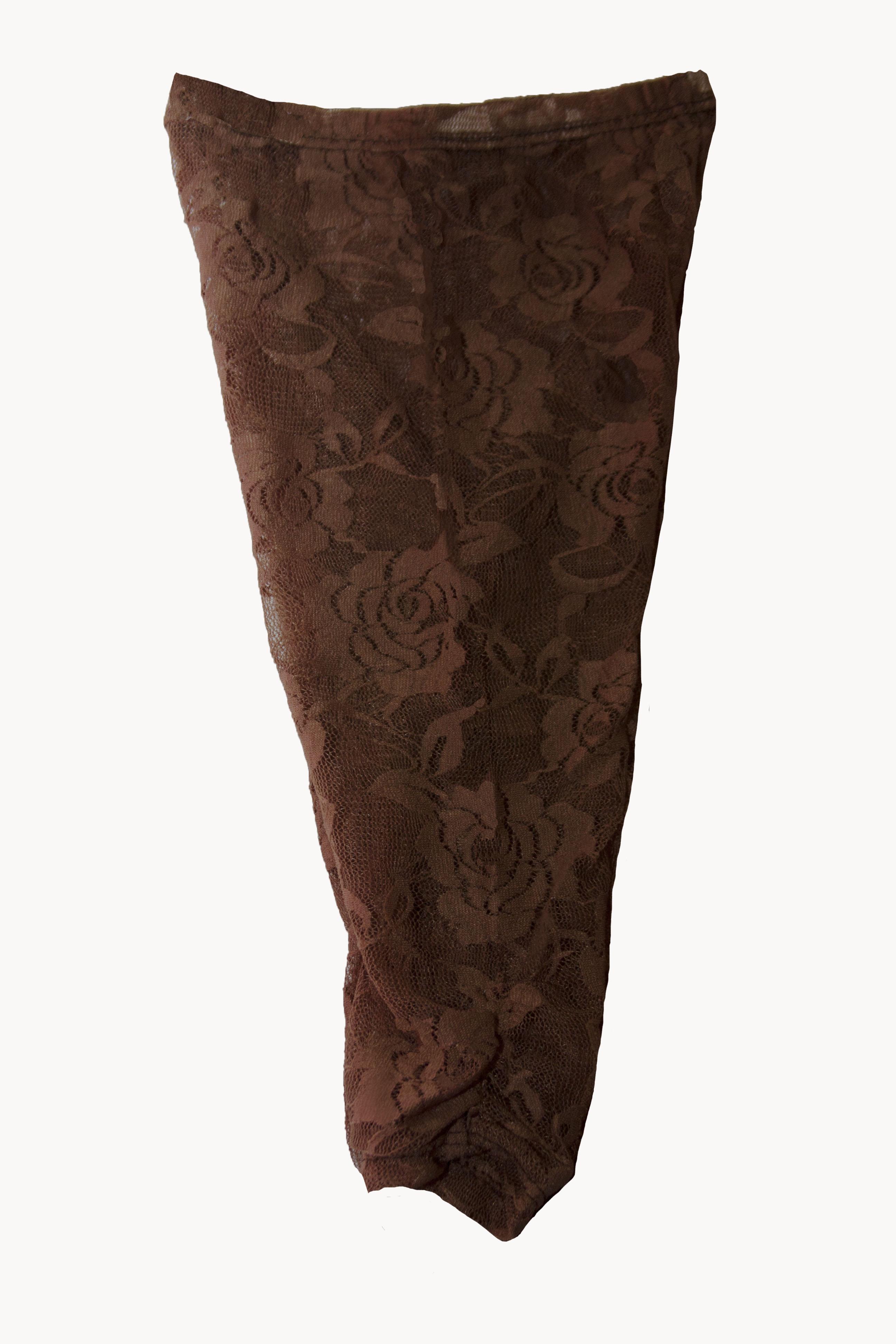 brown floral lace leggingsstretch lace leggingslace baby
