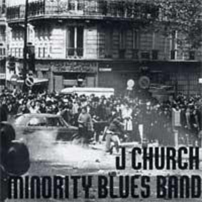 J church / minority blues band split 7""