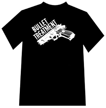 Bullet Treatment Gun Logo T Shirt On Storenvy