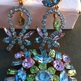 Brooch and Earrings Made in Austria Demi Parure - Thumbnail 1