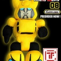 Cute Hand Made Plush Transformers Doll, Bumblebee!!