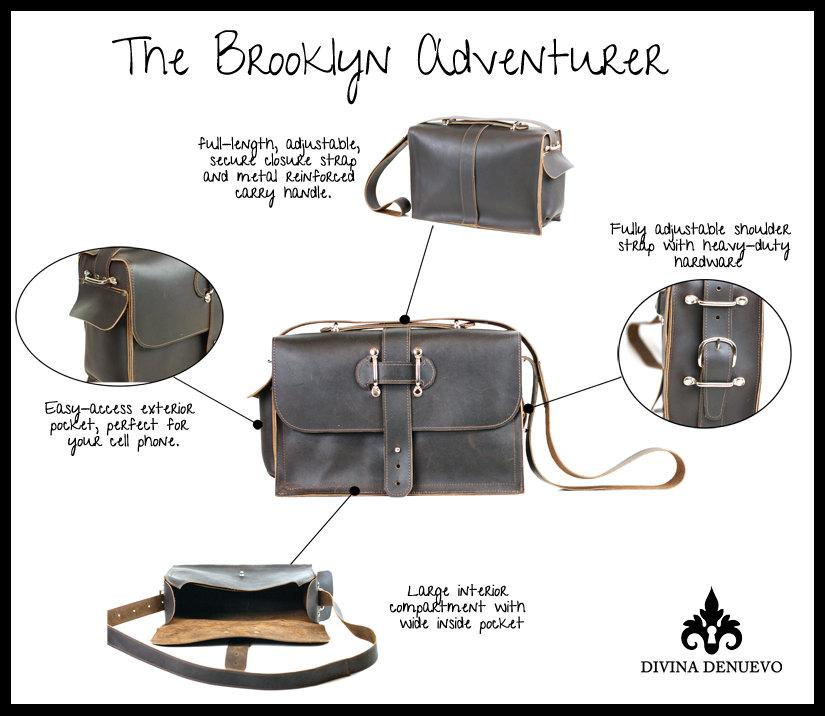 8316d2157c ... Men s Leather Satchel - Leather Messenger Bag - Leather Laptop Bag - Rustic  Industrial Design -