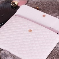 Luxury Designer Sheep Leather Impact Sleeve Case Bag For iPad 2 & New iPad!  (#68)