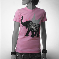 Women's Winged Elephant - Pink