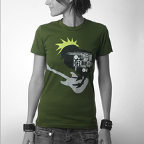 Women's Rock Chick - Green