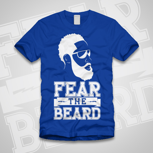James harden fear the beard logo - photo#26
