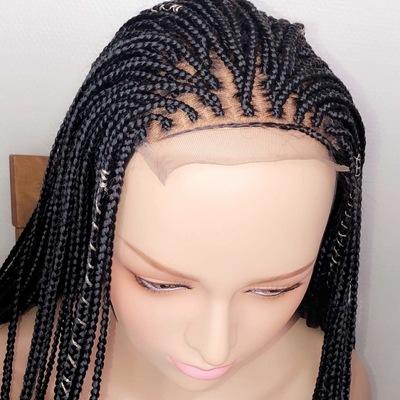 Box braids wig (handmade glue-less wig )