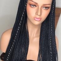 Box Braids wig (handmade glue-less wig )  - Thumbnail 2