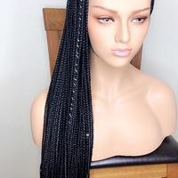 Box Braids wig (handmade glue-less wig )  - Thumbnail 4