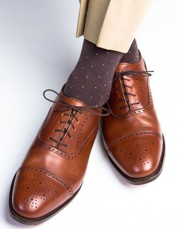 New Pure Handmade Dark Brown Leather Lace up Brogue Shoes for Men/'s