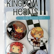 Kingdom Hearts II mini button set!