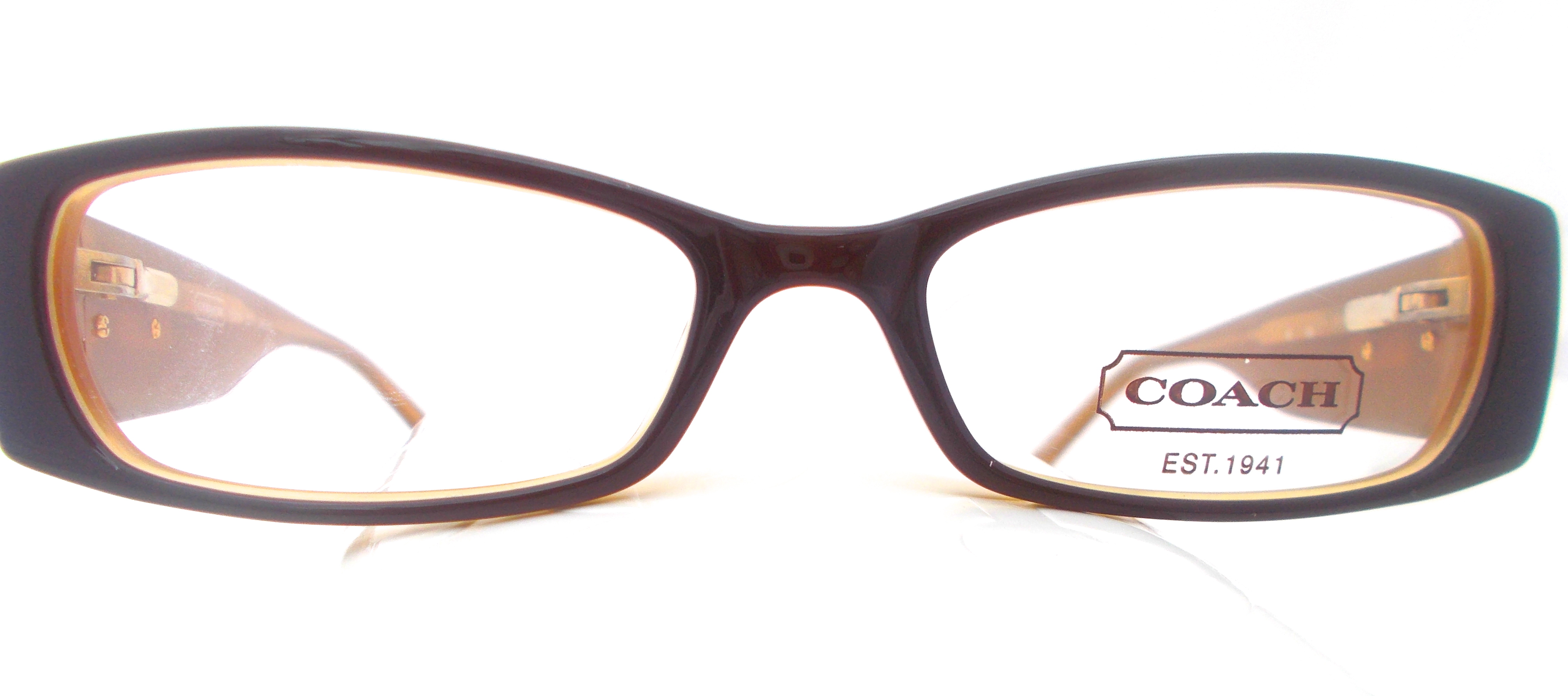 Coach Outlet Eyeglass Frames : H&S Optical Coach Womens Eyeglasses Ileana 2017 Brown ...