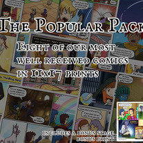 The Popular Comic Print Pack