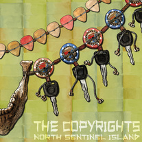 "the Copyrights ""North Sentinel island"" LP"