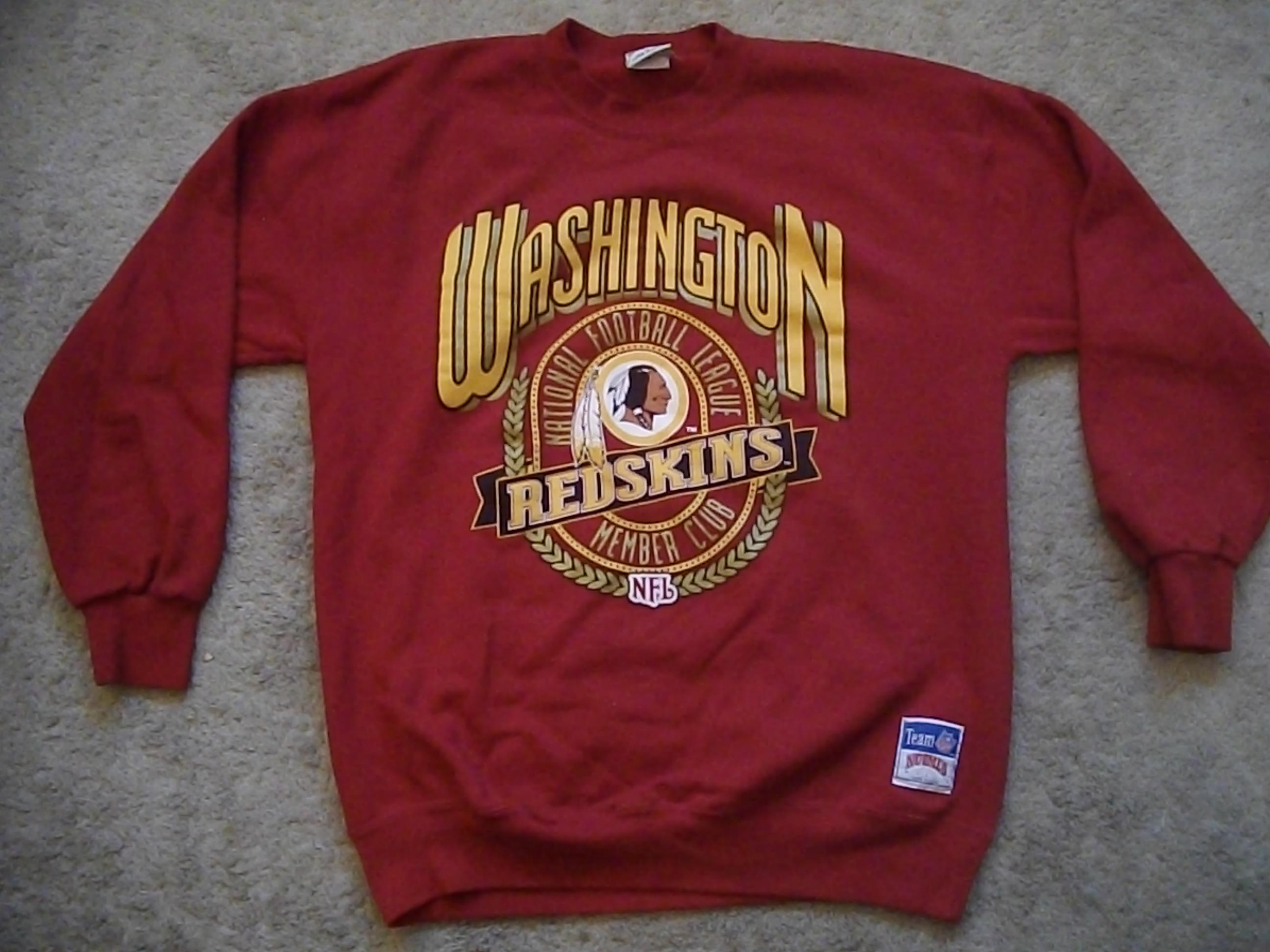 Vintage Washington Redskins Crewneck Sweatshirt Size XL · Haus of ...