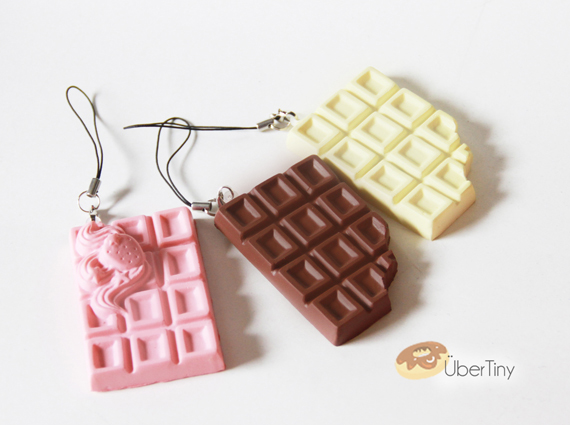 Squishy Cracking Chocolate Bar : Squishy Chocolate Bars - Crack and Snap! ? Uber Tiny ? Online Store Powered by Storenvy